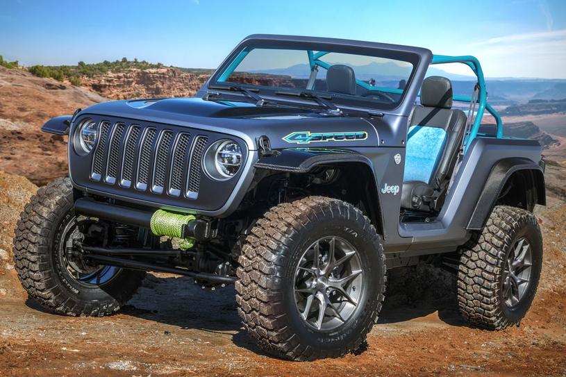 Jeep 4SPEED Concept /