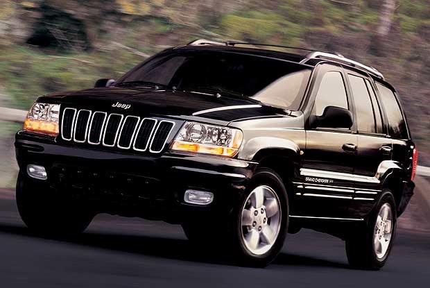 Jeep Grand Cherokee (kliknij) /INTERIA.PL
