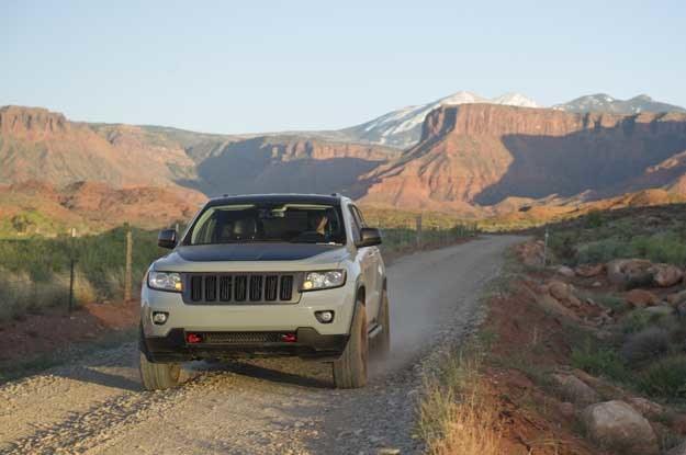 Jeep Grand Cherokee Off-road Edition /INTERIA.PL