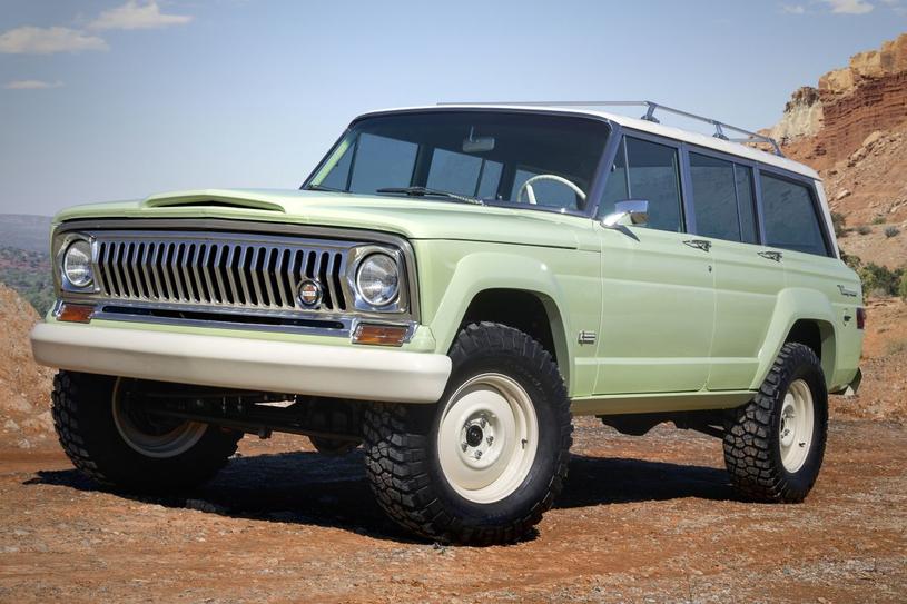 Jeep Wagoneer Roadtrip Concept /