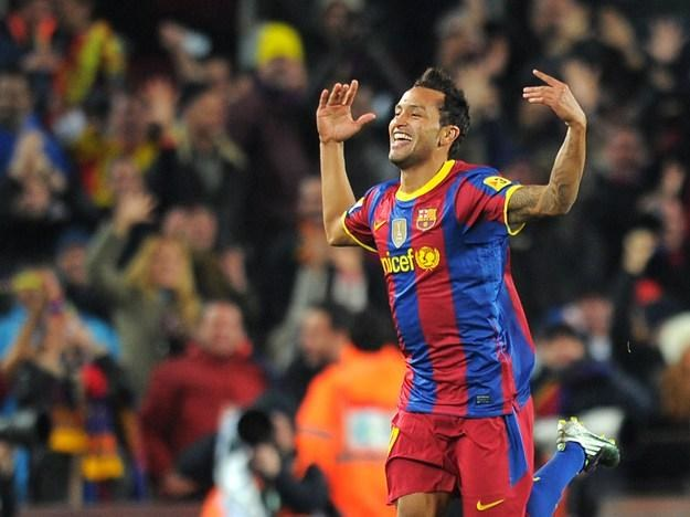 Jeffren Suarez (na zdjęciu) prawdopodobnie odejdzie z Barcelony /AFP