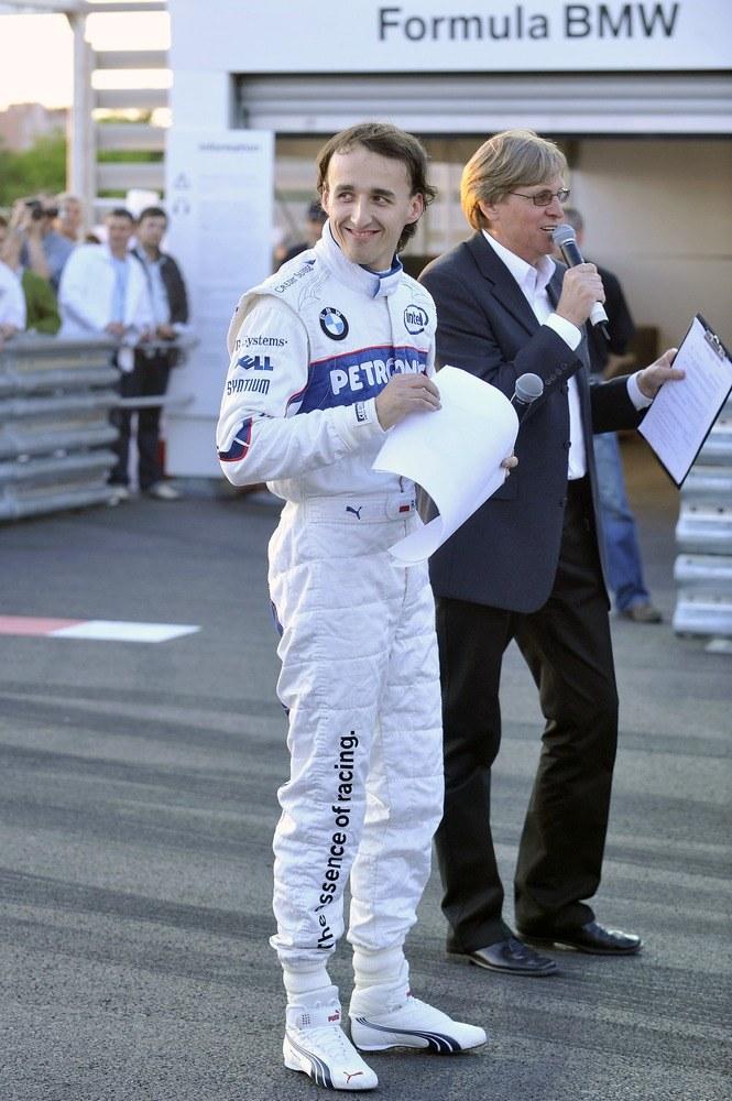 Jego narzeczona jest pewna, że Robert znów zasiądzie w bolidzie Formuły 1  /Jacek Kurnikowski /AKPA