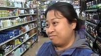 Jeleń w sklepie z kosmetykami