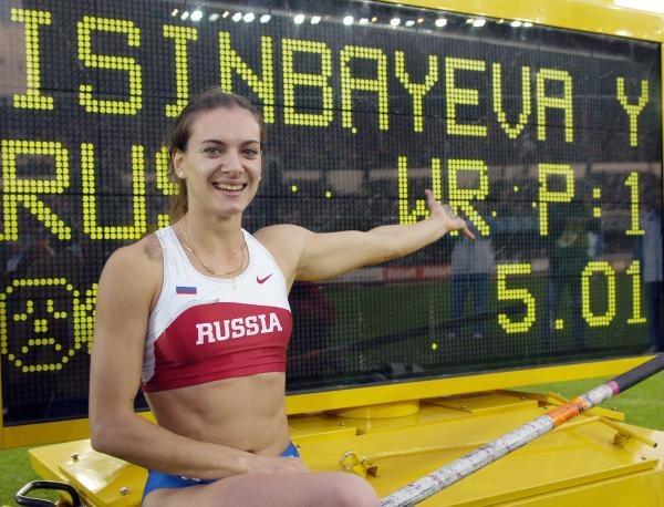 Jelena Isinbajewa /AFP