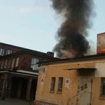 Jelenia Góra: Pożar jednego z budynków Celwiskozy