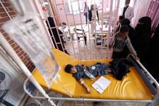 Jemen: Wojna wywołała epidemię cholery