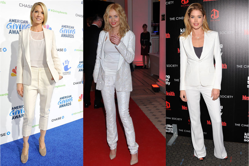 Jenna Elfman, Agnieszka Szulim, Doutzen Kroes /Getty Images/Flash Press Media
