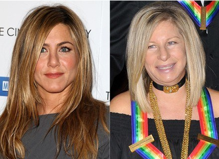 Jennifer Aniston i Barbra Streisand /Getty Images/Flash Press Media