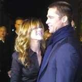 Jennifer Aniston i Brad Pitt /Archiwum