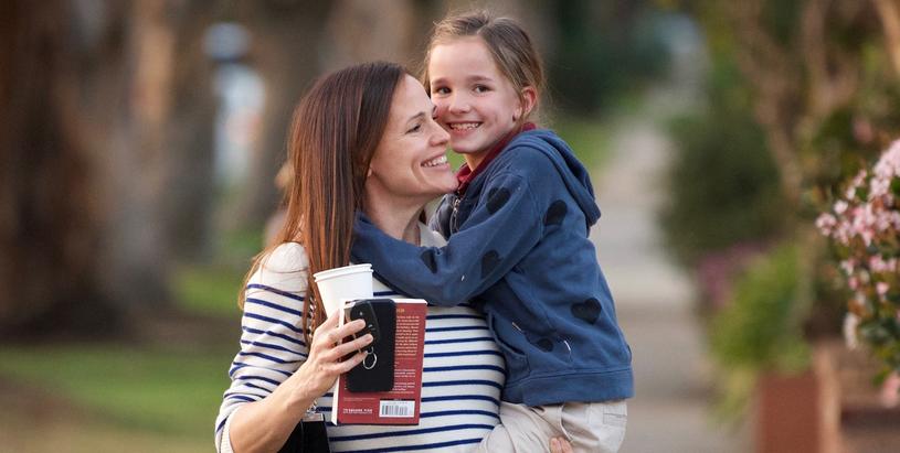 Jennifer Garner na spacerze z córką /East News