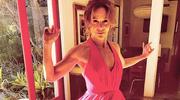 """Jennifer Grey w suknie z filmu """"Dirty Dancing"""""""