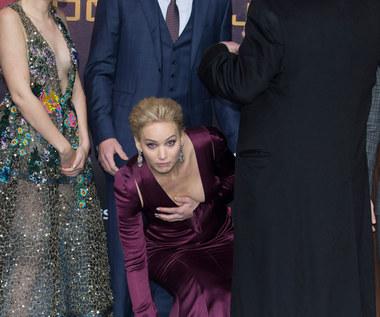 """Jennifer Lawrence na premierze ostatniej części """"Igrzysk śmierci"""""""