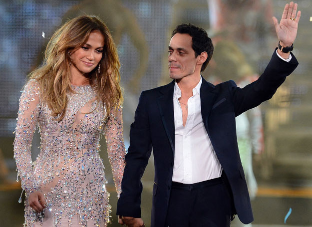 Jennifer Lopez i Marc Anthony /Getty Images/Flash Press Media