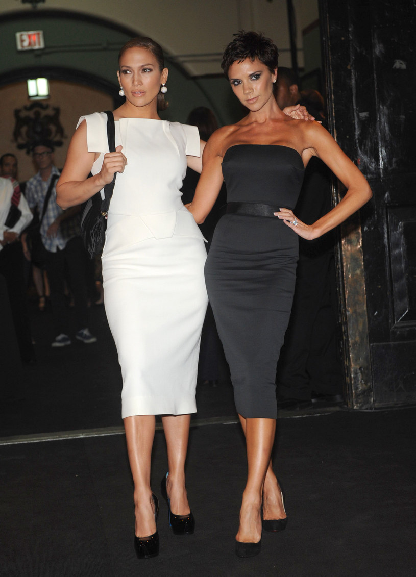 Jennifer Lopez i Victoria Beckham  /Getty Images/Flash Press Media