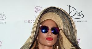 Jennifer Lopez na imprezie w Las Vegas