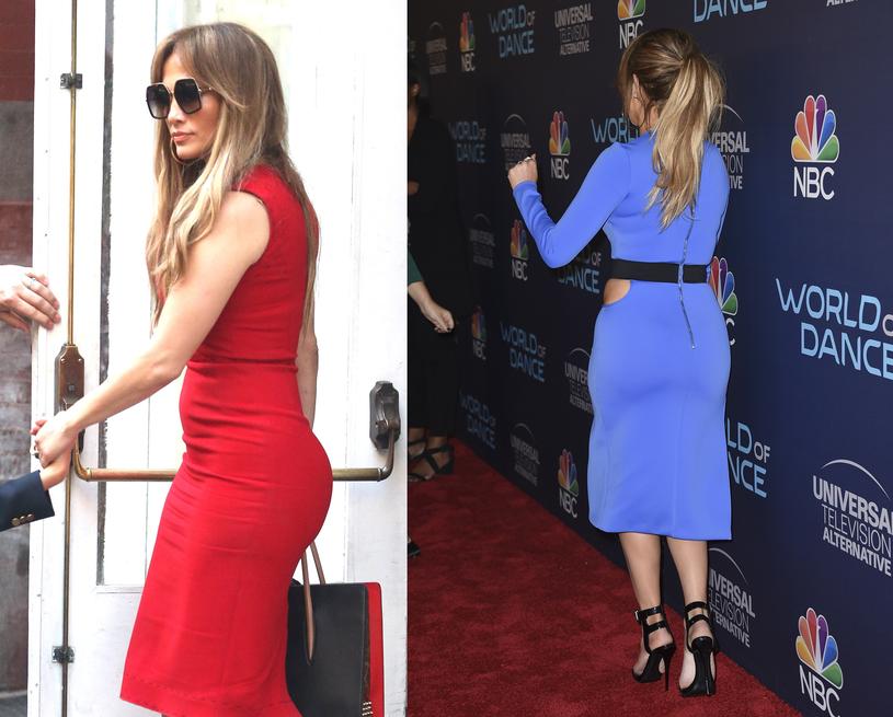 Jennifer Lopez uczyniła ze swoich krągłości atut /East News
