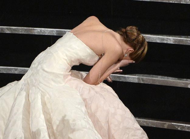 Jennifer mocno przeżyła otrzymanie Oscara /Getty Images