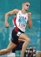 Jeremy Wariner - najlepszy w biegu na jedno okrążenie /AFP