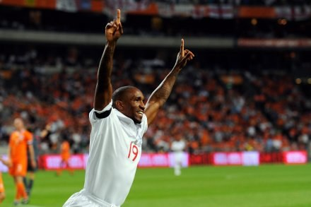 Jermain Defoe strzelił dwa gole dla Anglii/fot. Michael Regan /Getty Images/Flash Press Media