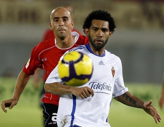 Jermaine Pennant w barwach Realu Saragossa /AFP