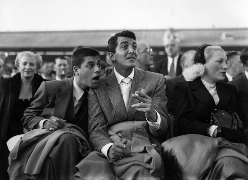 Jerry Lewis (L) i Dean Martin (P) /Topical Press Agency /Getty Images