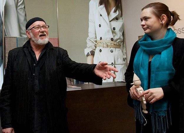 Jerzy Antkowiak i Paulina Bandura, koordynatorka programu Pajacyk /materiały prasowe