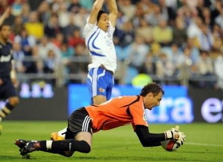 Jerzy Dudek rozegrał dobry mecz przeciwko HSV /AFP