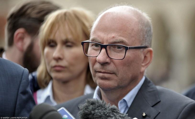 Jerzy Meysztowicz, lider krakowskiej listy kandydatów do Sejmu Nowoczesnej Ryszarda Petru /Marek Lasyk/REPORTER  /East News