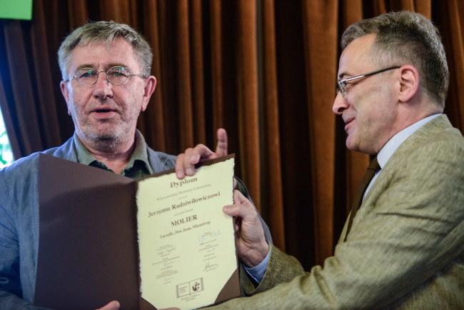 Jerzy Radziwiłowicz, Adam Pomorski /PAP/Jakub Kamiński  /PAP