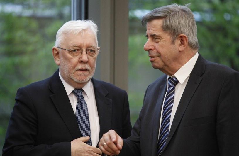 Jerzy Stępień i Andrzej Zoll /Stefan Maszewski /Reporter