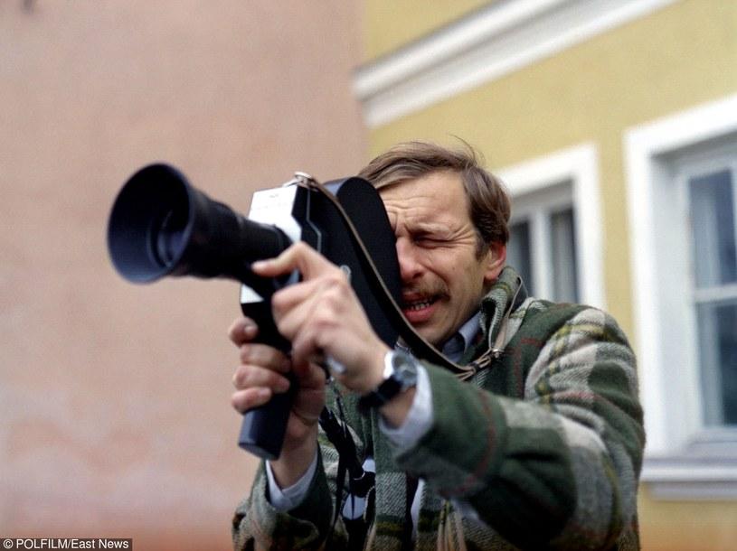 """Jerzy Stuhr w filmie """"Amator"""" /East News/POLFILM"""