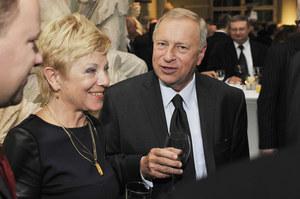 Jerzy Stuhr z żoną Barbarą /fot  /AKPA