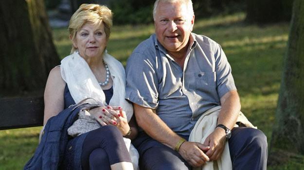 Jerzy Stuhr z żoną: Świetne zdjęcie na bloga! /AKPA