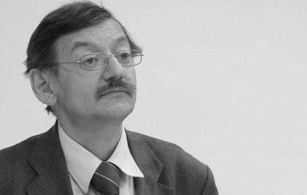 """Jerzy Targalski, pomysłodawca pisma """"Obóz"""" /Witold Rozbicki/REPORTER /East News"""