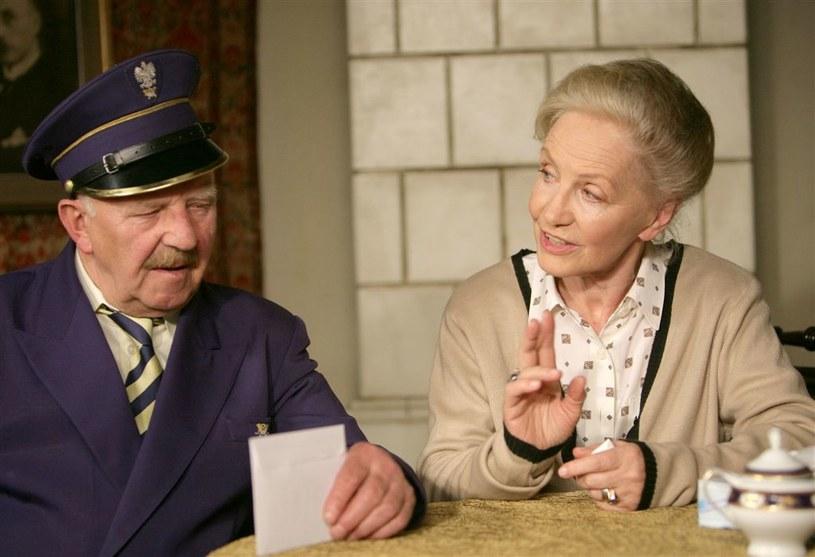 Jerzy Turek (Józef Garliński) i Anna Milewska (Julia Złotopolska) /Agencja W. Impact