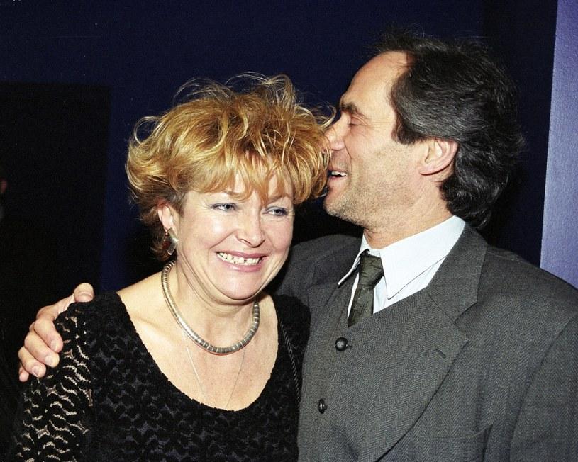 Jerzy Zelnik z żoną Urszulą /Tricolors /East News