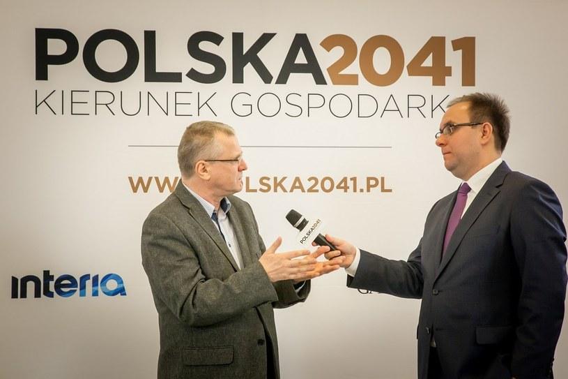"""Jest aż 21 powodów dlaczego Polacy zarabiają mało - twierdzi ekspert fundacji """"Pomyśl o przyszłości"""", Paweł Dąbrowski /INTERIA.PL"""