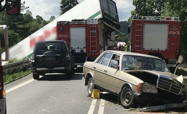 Jest śledztwo ws. wypadku autokaru na zakopiance. Spowodowanie katastrofy w ruchu lądowym