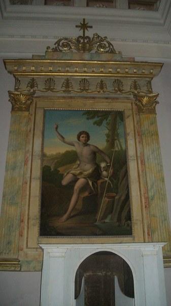 ...obraz w kaplicy zalobnej w podziemiu