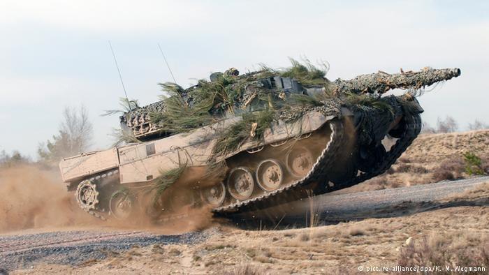 """Jeszcze """"Made in Germany"""" - Leopard 2 produkcji KMW / picture-alliance/dpa/K.-M. Wegmann /Deutsche Welle"""
