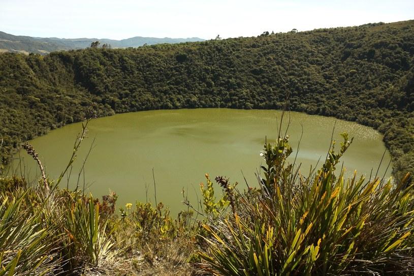 Jezioro Guatavita w Kolumbii /123RF/PICSEL