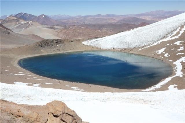 Jezioro, w którym nurkowali Polacy, Fot: medexpeditions.org /