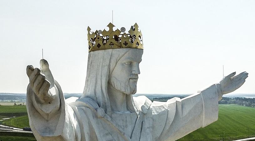 Jezus z antenami /Piotr Jędzura /Reporter
