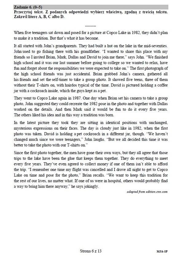 Język angielski - poziom podstawowy, str. 6 /INTERIA.PL