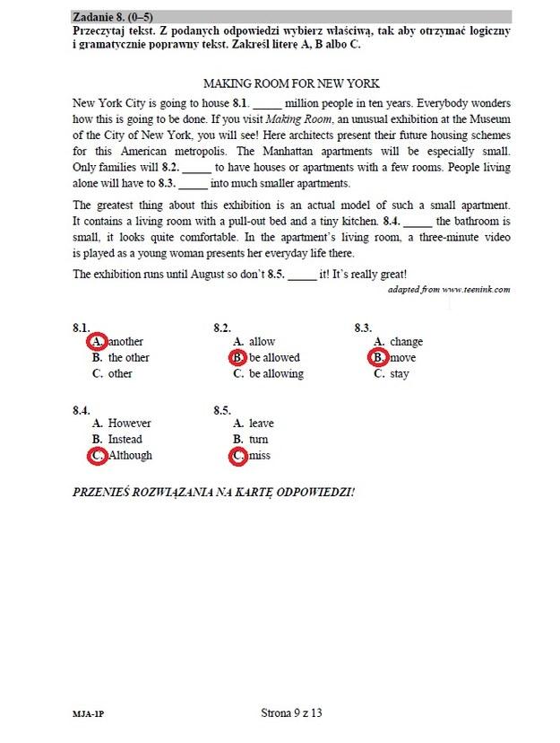 Język angielski - poziom podstawowy, str. 9 /INTERIA.PL