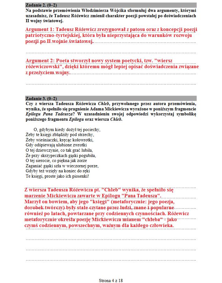 Język polski, poziom podstawowy /INTERIA.PL
