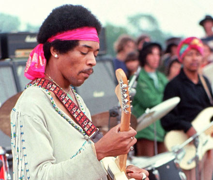 Jimi Hendrix /arch. AFP
