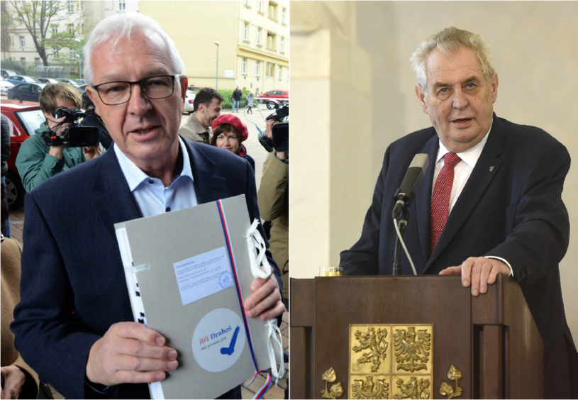 Jirzi Drahosz i Milosz Zeman /AFP