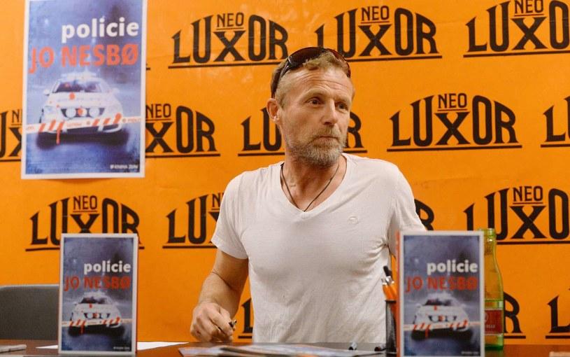 """Jo Nesbo - autor książki """"Pragnienie"""" /AFP"""