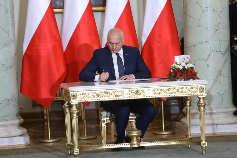 Joachim Brudziński został ministrem spraw wewnętrznych i administracji /Rafał Guz /PAP